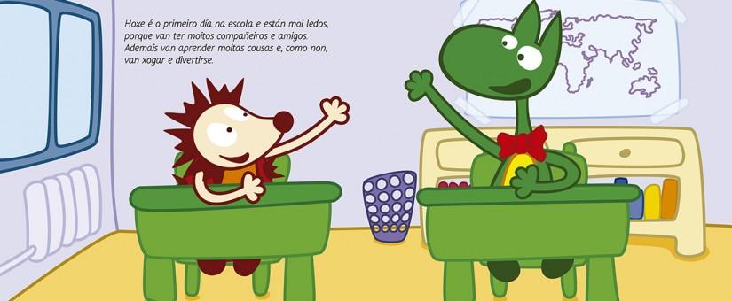 Linteo lanza un novo proxecto de libro infantil baixo o título de Cancodrilo