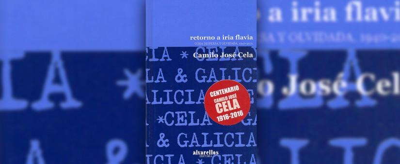 Alvarellos Editora relanza el 'Retorno a Iria Flavia' de Cela,en el centenario del PremioNobel
