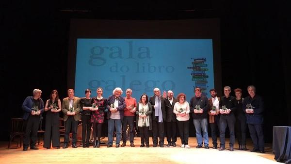 Gañadores I Gala do Libro
