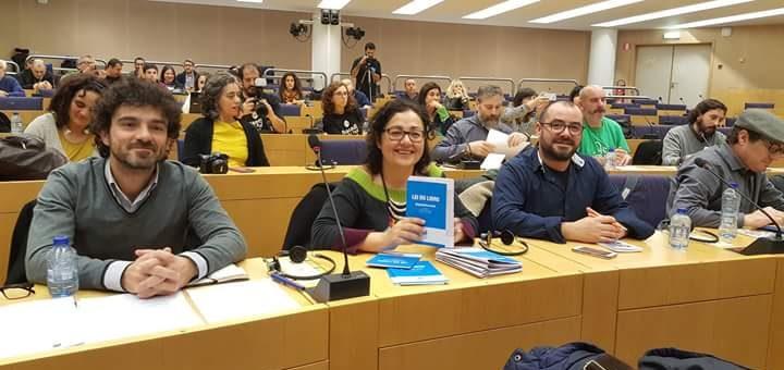 Intervención da Asociación Galega de Editoras nas xornadas de debate da cultura galega no Parlamento Europeo