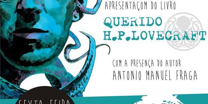 """Urco Editora presenta """"Querido H.P Lovecraft"""", de Antonio Manuel Fraga"""