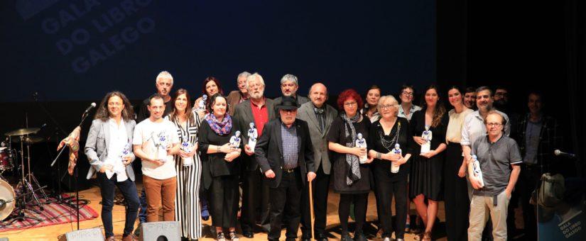 Obras gañadoras dos Premios da III Gala do Libro Galego, 2018