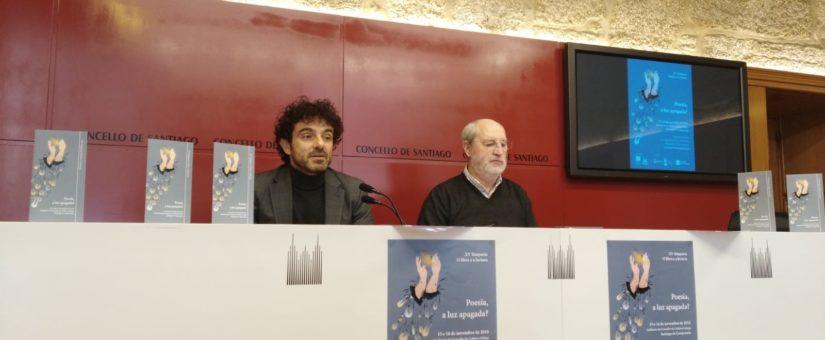 Presentación en rolda de prensa do XV Simposio O libro e a lectura: Poesía, a luz apagada?