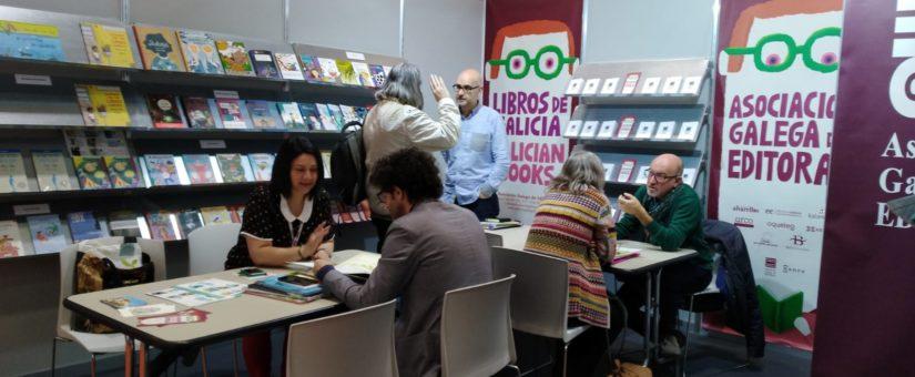 COMPRA-VENDA DE DEREITOS E APERTURA DE NOVOS MERCADOS, ENTRE AS ACCIÓNS DAS EDITORAS GALEGAS NA FEIRA INTERNACIONAL DO LIBRO INFANTIL E XUVENIL DE BOLOÑA