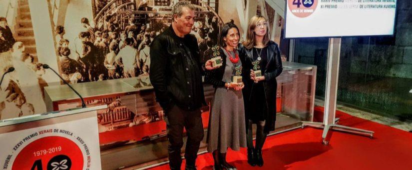 O acto de entrega dos Premios Xerais 2019 conmemorou tamén o 40 aniversario da editorial